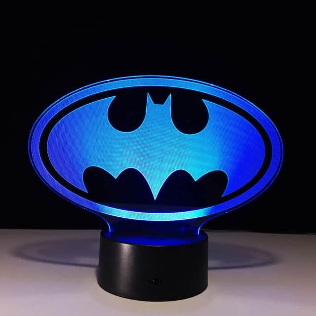 Batman lampa Ljuvliga Stunder